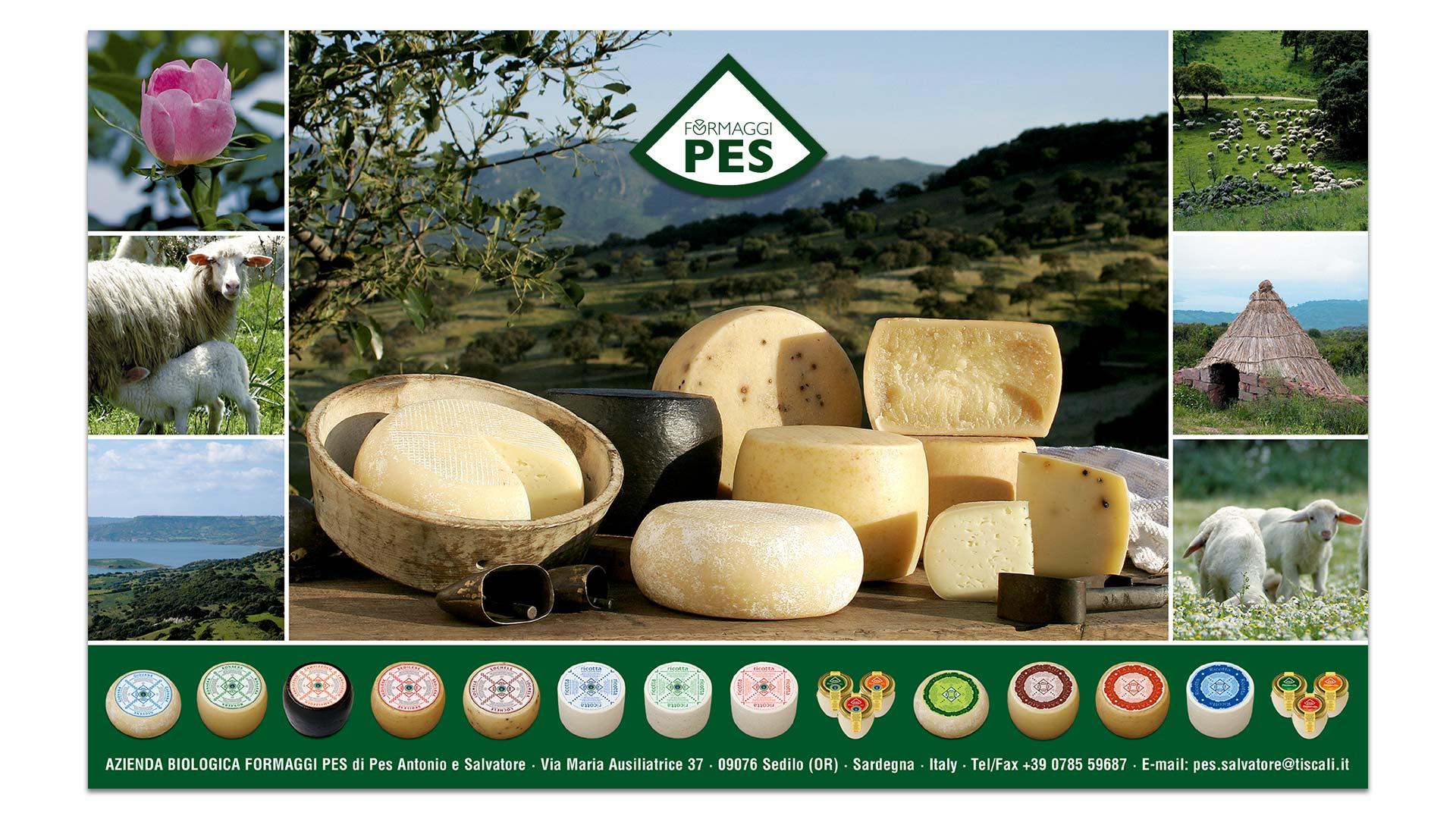 Formaggi Pes - Sedilo - Locandina prodotti