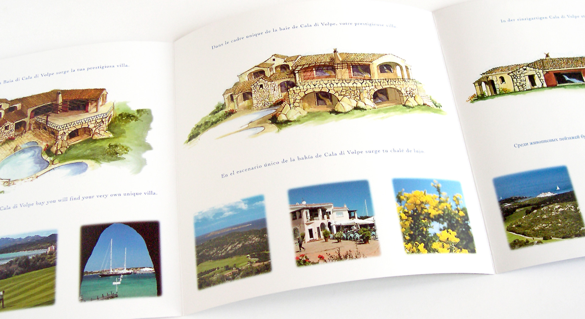 Chrimar Costruzioni - Brochure per la presentazione di una villa a Cala di Volpe