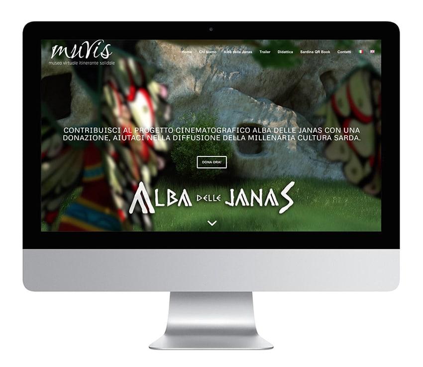 Sito web Alba delle Janas