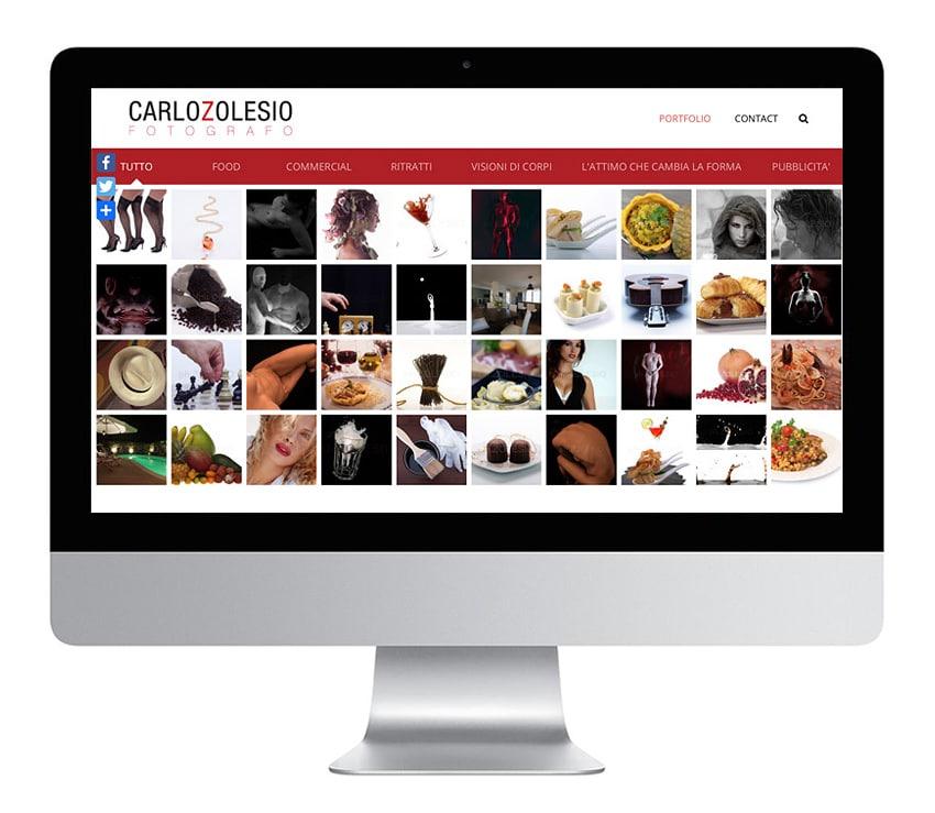 Sito web Carlo Zolesio