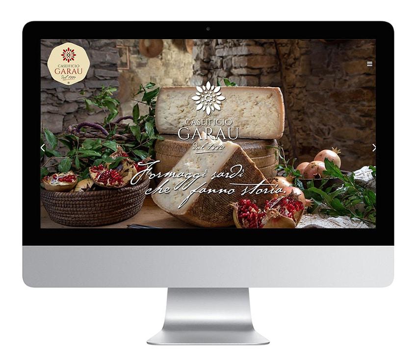 Sito web Caseificio Garau dal 1880
