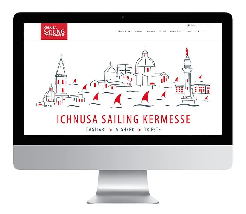Sito web Ichnusa Sailing Kermesse
