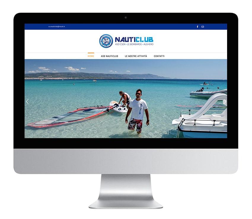 Sito web Nauticlub Alghero